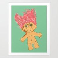 Troll, 2013. Art Print