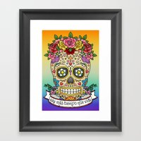 There Is More Time Than … Framed Art Print