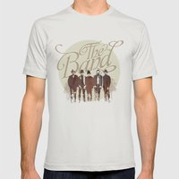 THE BAND Mens Fitted Tee Silver SMALL