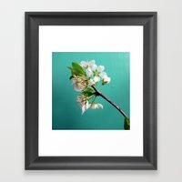 Still Life With Spring Framed Art Print