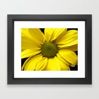 The Yellow one Framed Art Print