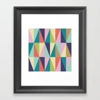 MCM Pointedly Peuce Framed Art Print