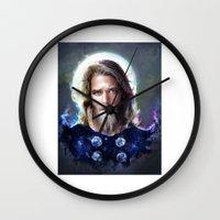 North God Wall Clock