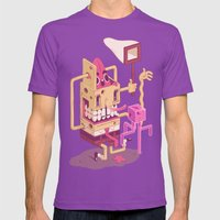 Spongebob Mens Fitted Tee Ultraviolet SMALL
