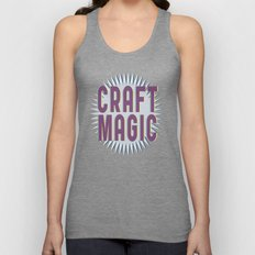 Craft Magic // Berry Unisex Tank Top