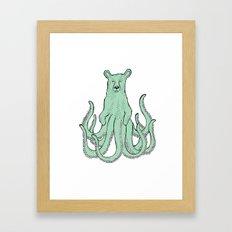 Octobear Framed Art Print