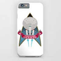 Boldly Go - 50th Anniversary iPhone 6 Slim Case