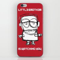 Little Brother is Watching You. iPhone & iPod Skin