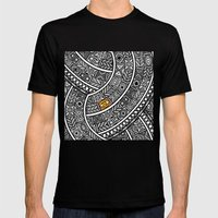 Oba Goldeneye Mens Fitted Tee Black SMALL