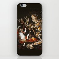 Robot And Cat In The Wil… iPhone & iPod Skin