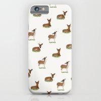 Deer Print iPhone 6 Slim Case