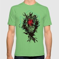 Inner Eye Mens Fitted Tee Grass SMALL
