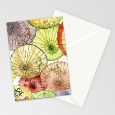 Paper Umbrellas Stationery Cards