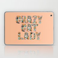 Crazy Cat Lady Laptop & iPad Skin