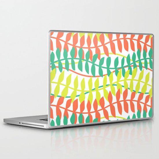 seagrass pattern - tropical Laptop & iPad Skin