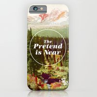 iPhone Cases featuring The Pretend Is Near. by Nick Nelson