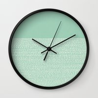 Riverside - Hemlock Wall Clock
