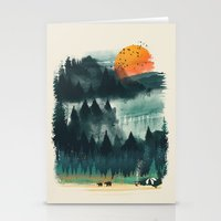 Wilderness Camp Stationery Cards
