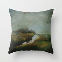 Waiting I Throw Pillow