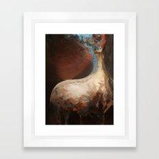 mem-brain Framed Art Print