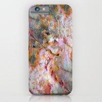 Rainbow Marble 1 iPhone 6 Slim Case