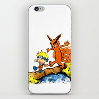 Homicidal Psycho Ninja Fox iPhone & iPod Skin