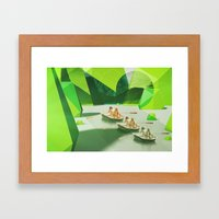 Row Your Boat Framed Art Print