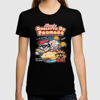 Omelette Du Fromage Womens Fitted Tee Black SMALL