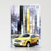 City-Art TIMES SQUARE I Stationery Cards