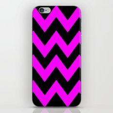 Black & Pink Chevron Lines  iPhone & iPod Skin