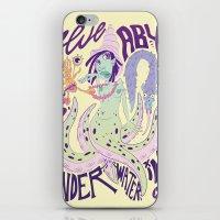 Lady Marine iPhone & iPod Skin