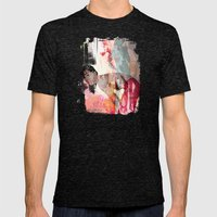 Bill of Goods Mens Fitted Tee Tri-Black SMALL