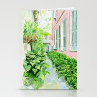 New Orleans Courtyard Stationery Cards