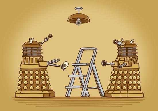 Dalek DIY Art Print