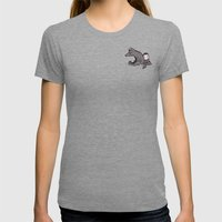 Lullaby Womens Fitted Tee Tri-Grey SMALL