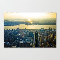 Top of the Empire #11 Canvas Print