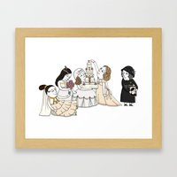Four Weddings and a Funeral Framed Art Print