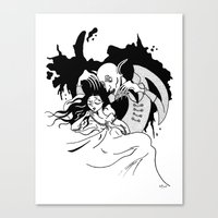 Nosferatu The Vampire Canvas Print