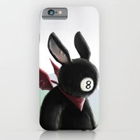 iPhone & iPod Case featuring Eightball demon by Jacques Marcotte