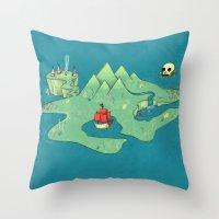 Neverland Throw Pillow