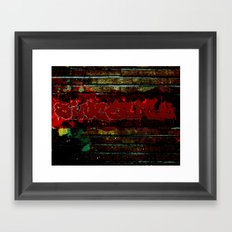 Sincerity Framed Art Print