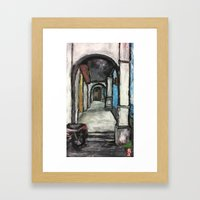 George Town Penang 5ft W… Framed Art Print