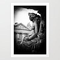 Place De La Concorde Fou… Art Print