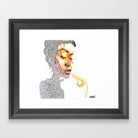 Dotts Framed Art Print