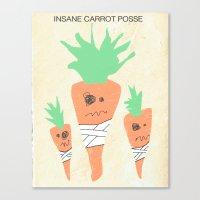 Insane Carrot Posse Canvas Print