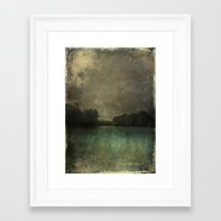 The Lake Susan Weller Framed Art Print
