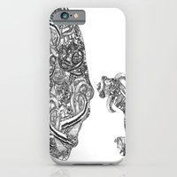 Homme Poisson B&W iPhone 6 Slim Case