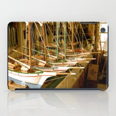 Handmade Boats iPad Case