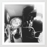 Harley IV Art Print