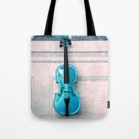 Violin IV Tote Bag